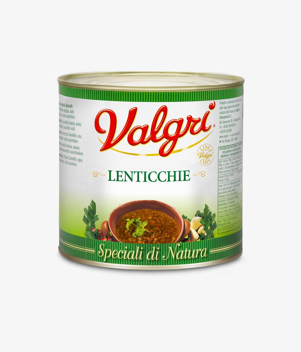 lenticchie in scatola horeca