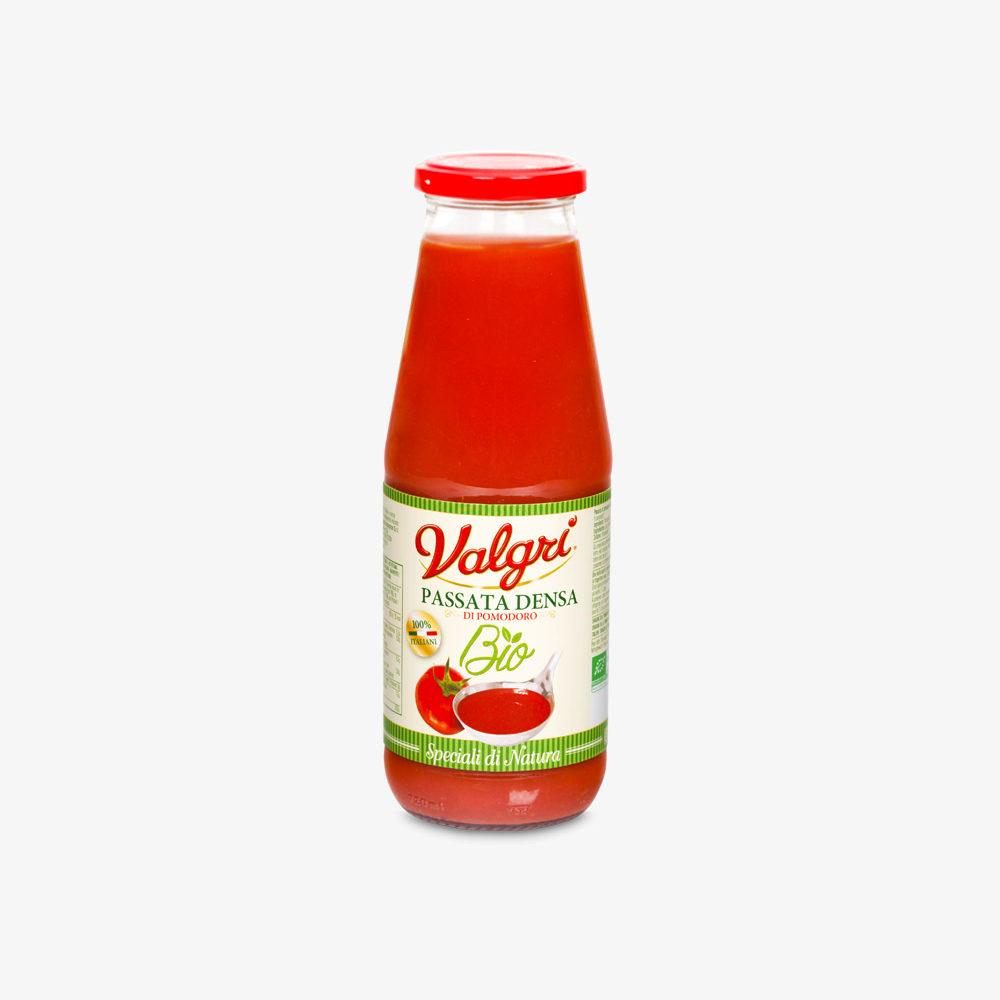 passata di pomodoro biologica in bottiglia